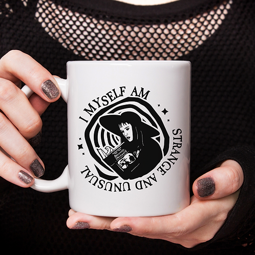 I Myself Am Strange and Unusual Mug