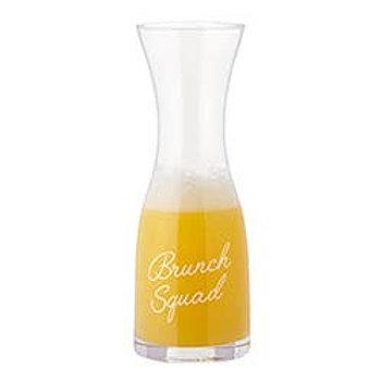 Brunch Squad Glass Carafe