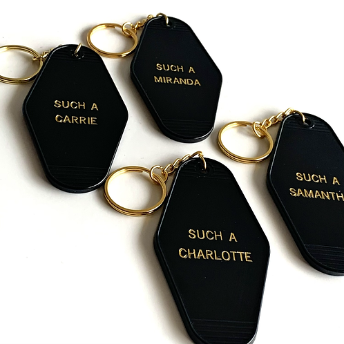 SATC Keychain - Choose Your Character!