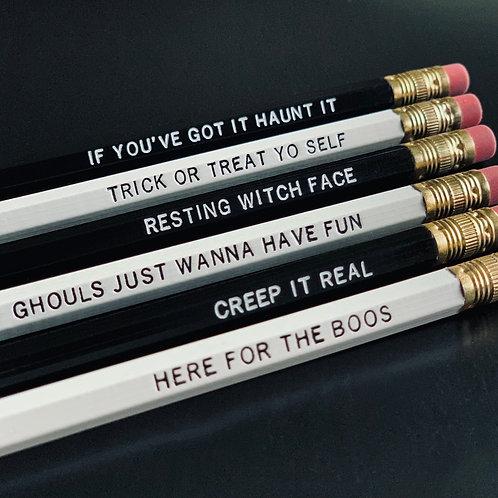 Spooky Season Pencil Set