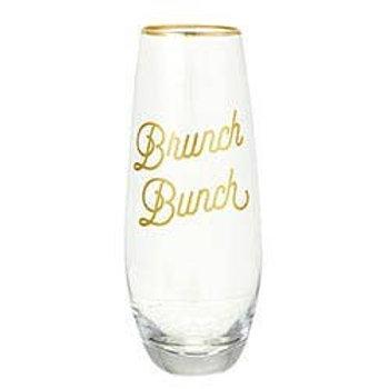 Brunch Bunch Stemless Champagne Glass