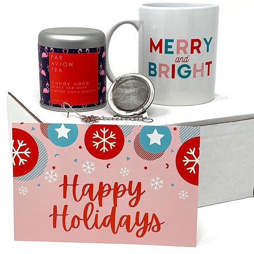 Candy Cane Tea + Mug Combo