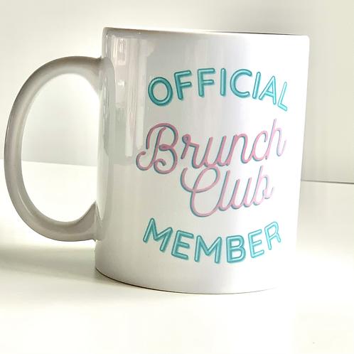 Official Brunch Club Member Mug