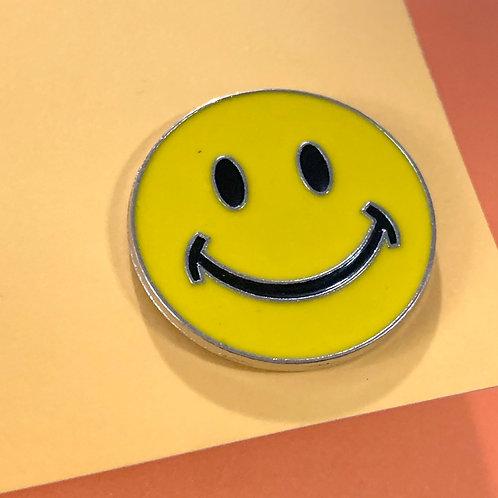 Smile Enamel Pin