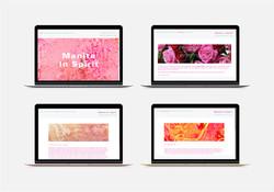 Website design, ManitaInSpirit