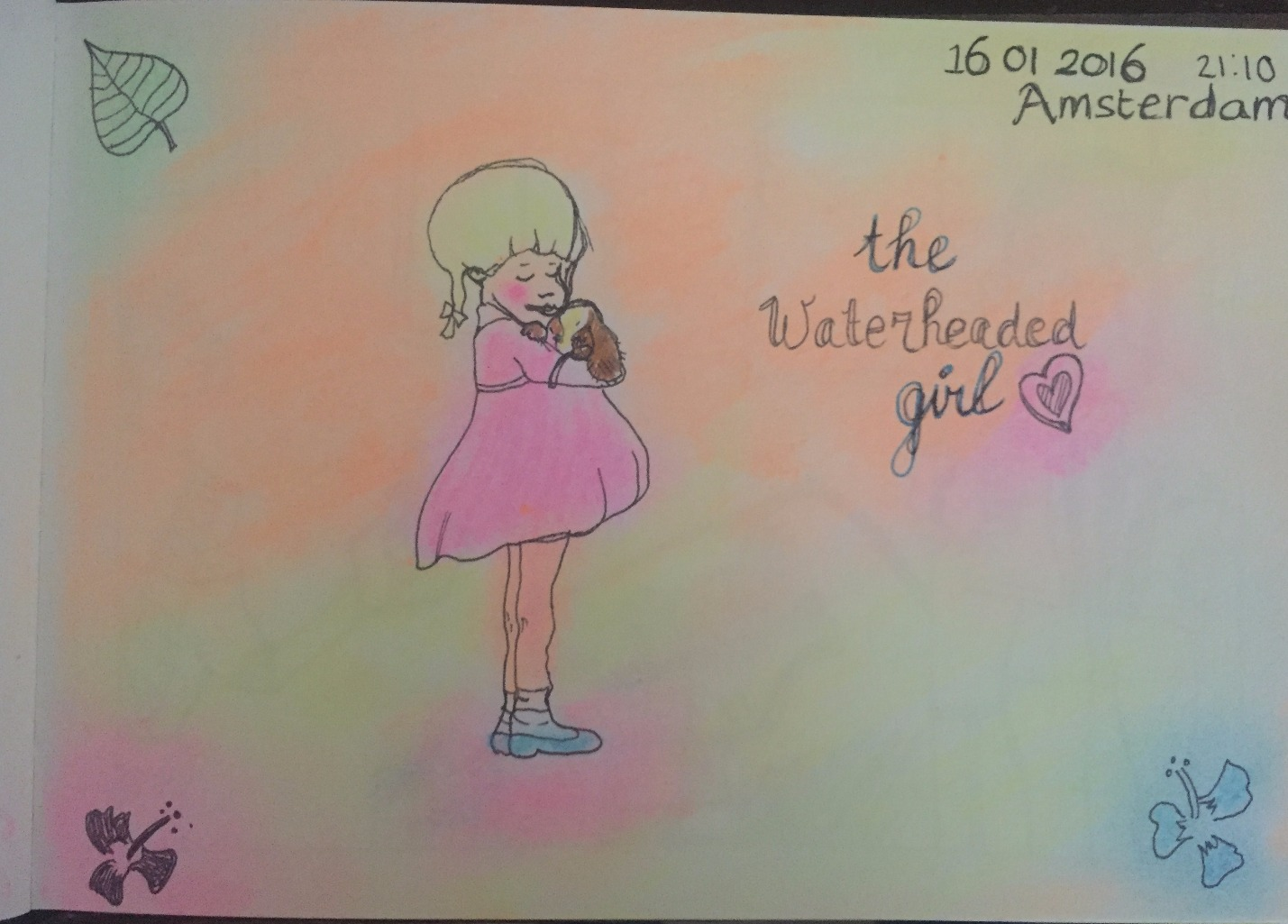 The waterheaded girl