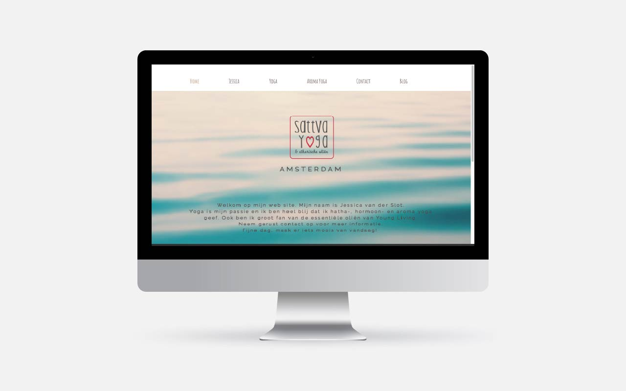 Webdesign Project Sattva Yoga