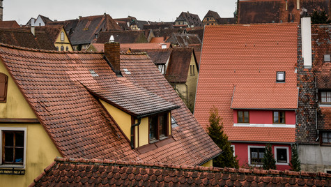 Rothenburg Rooftops