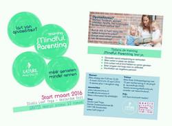 Flyer ontwerp voor MindfulParenting