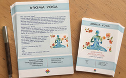 Flyers_AromaYoga_stapels