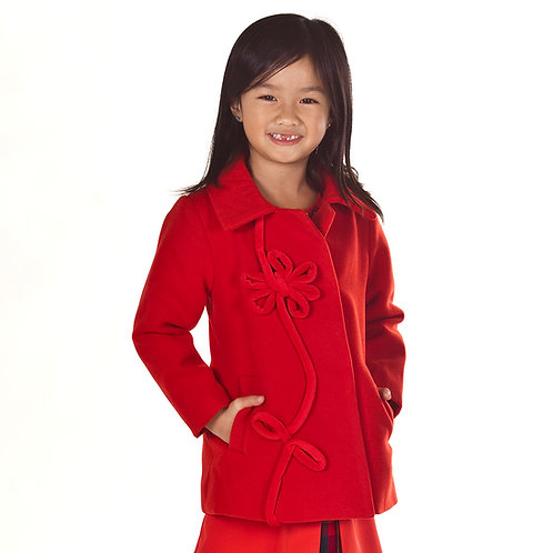Red Holiday Jacket