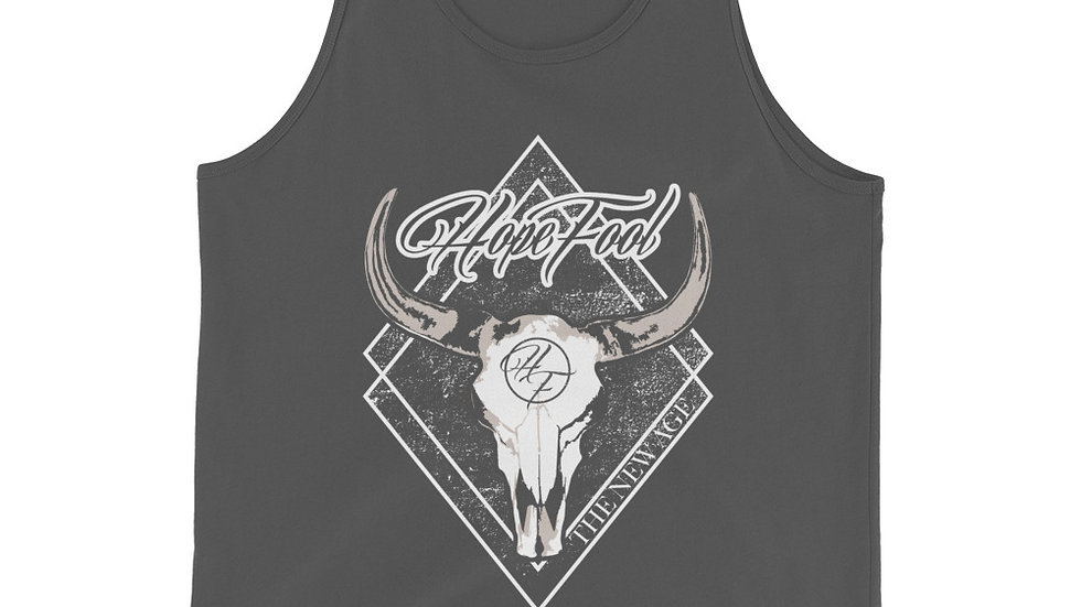 """Unisex """"The New Age"""" Tank Top"""