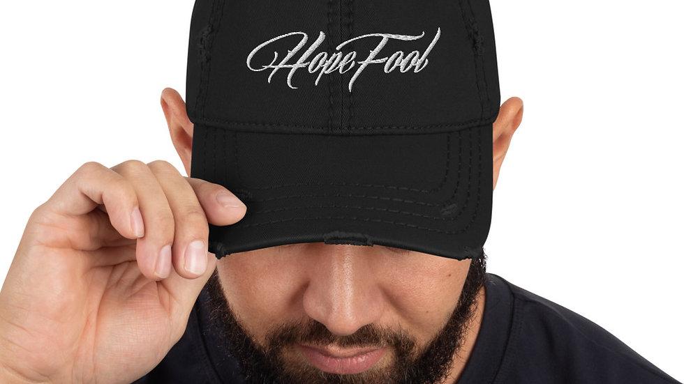 Distressed HopeFool Hat