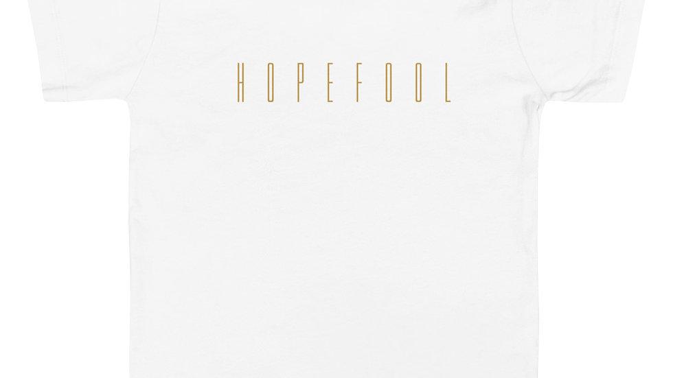 Toddler Short Sleeve HopeFool Tee