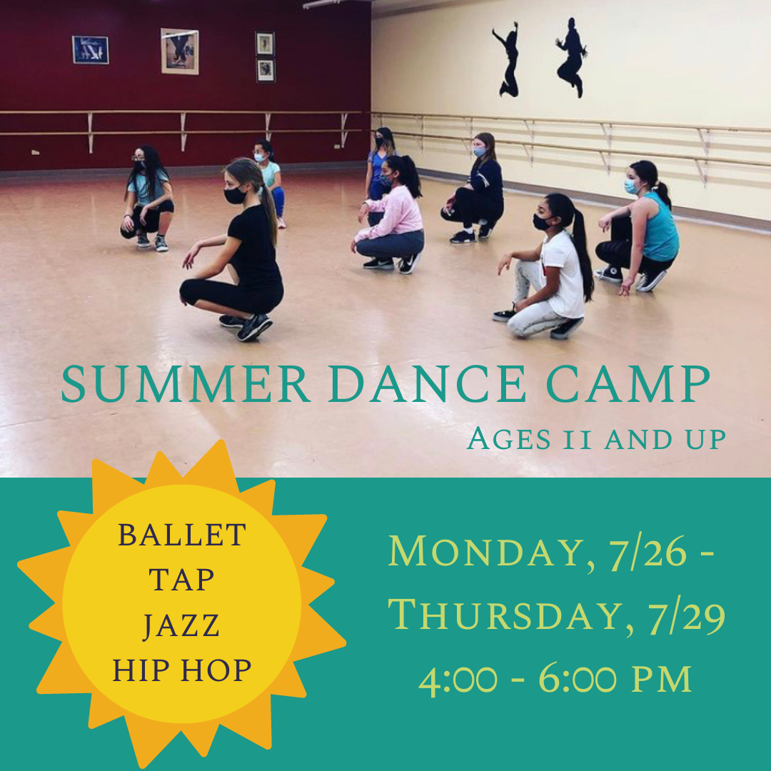 SUMMER DANCE CAMPS 11+