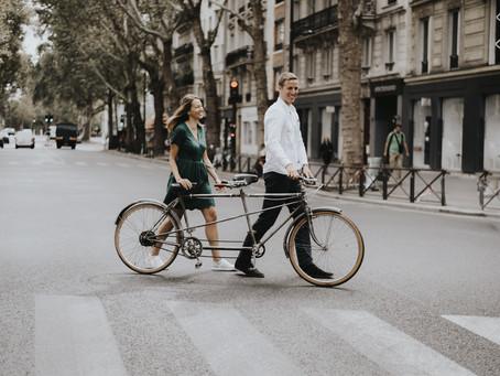 Paris en tandem...
