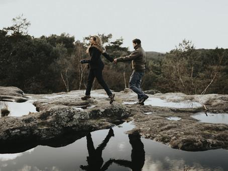 Balade dans la Forêt de Fontainebleau...