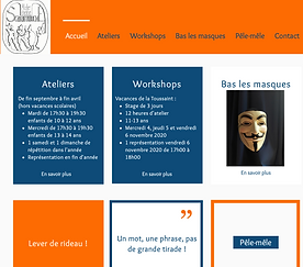 site ateliers Scaramouche