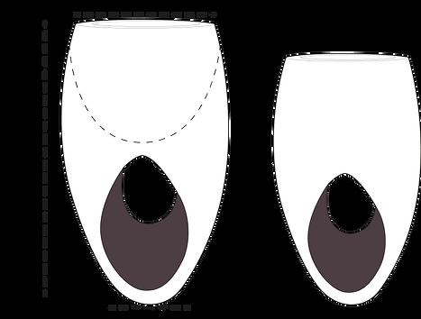 Tamaños de macetas Kadabra
