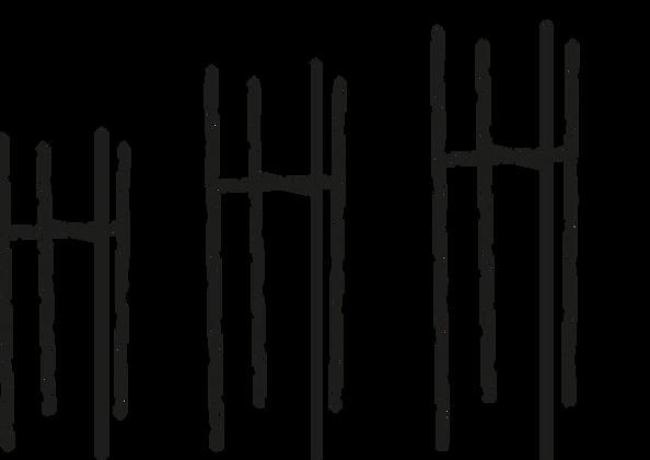 dimensiones Base cuatro patas PTR de 3/4
