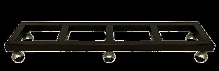 Base metalica de ruedas PTR de 1 1/2