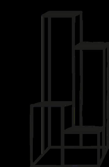 dimensiones Base cuatro cuadrada 02 PTR de 3/4