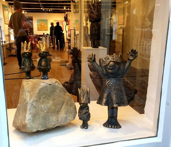 """Ab sofort sind meine Bronzeschnuggis auch in der """"Speichergalerie"""" im Bremer Schnoor (Schn"""