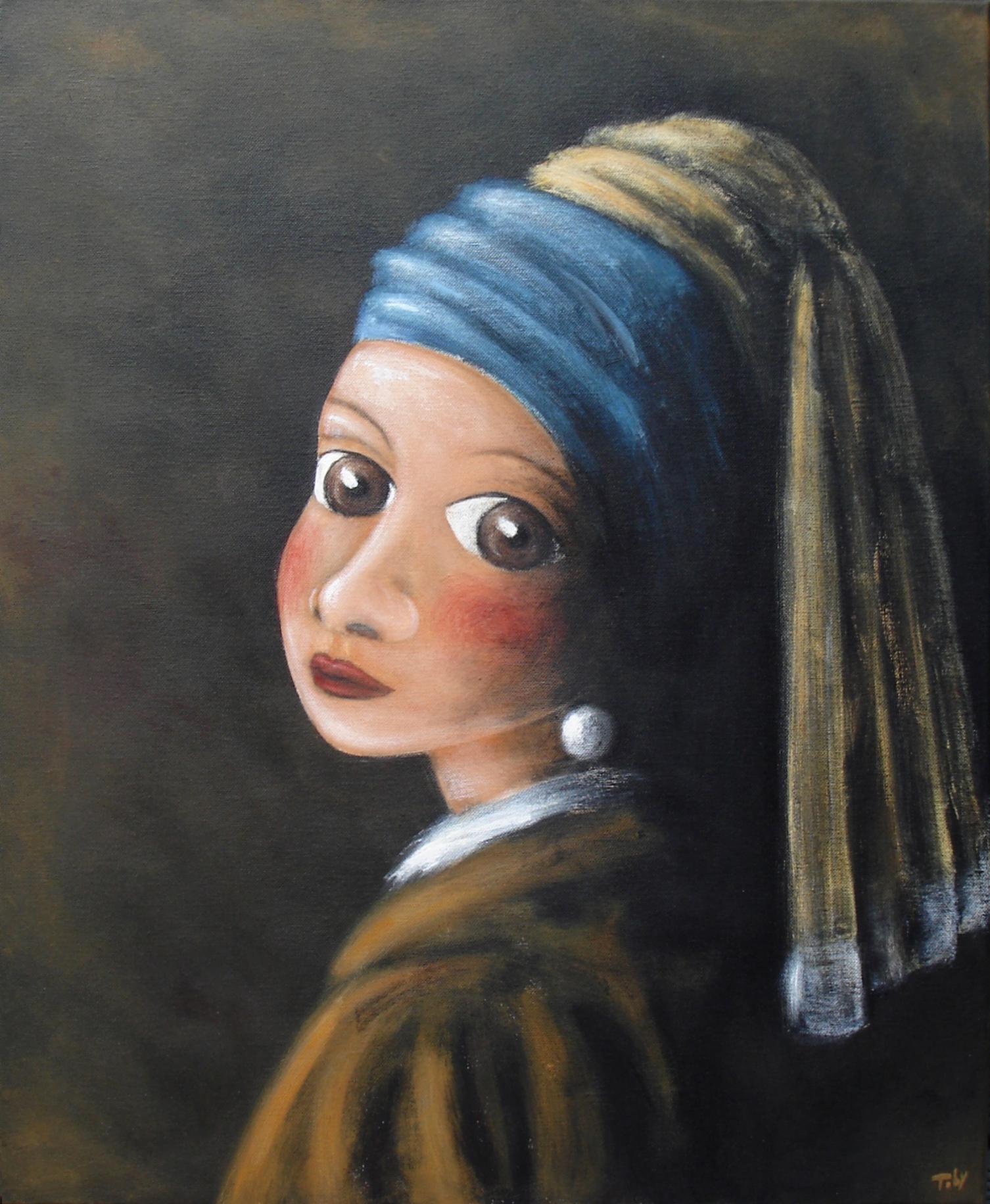 """""""Das Mädchen mit dem Perlenohrring"""""""