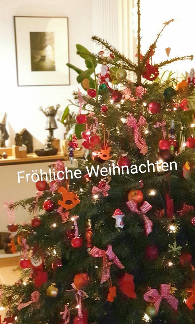 Ganz herzliche Weihnachtsgrüße...