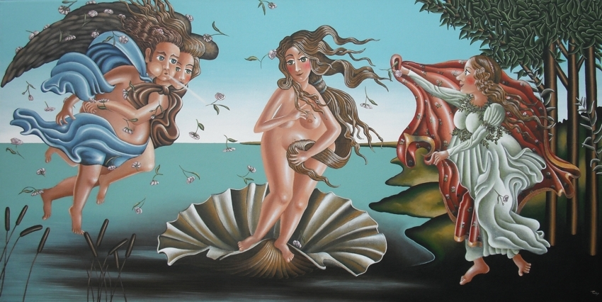 """""""Geburt der Venus"""""""