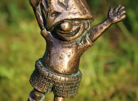 """Juchhuuuu...endlich ist der neue kleine Kerl fertig: """"Ich singe und bin froooh, drum hüpf'"""