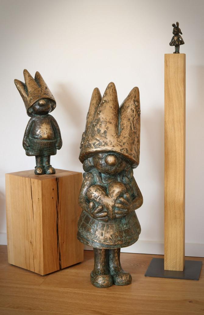 """Juchhuuu...endlich ist auch """"Klein-Ida mit Herz"""" (limitiert auf 33 Exemplare, 80 cm) fertig geworden"""