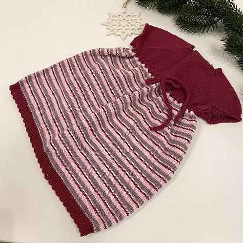 Stripete kjole