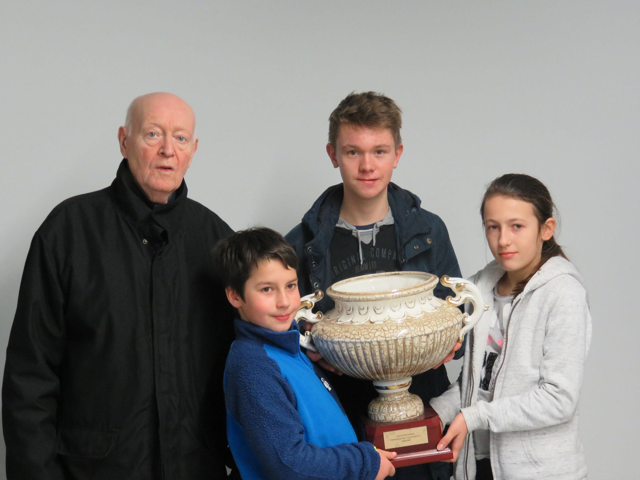 Championnat de Normandie – Ecole