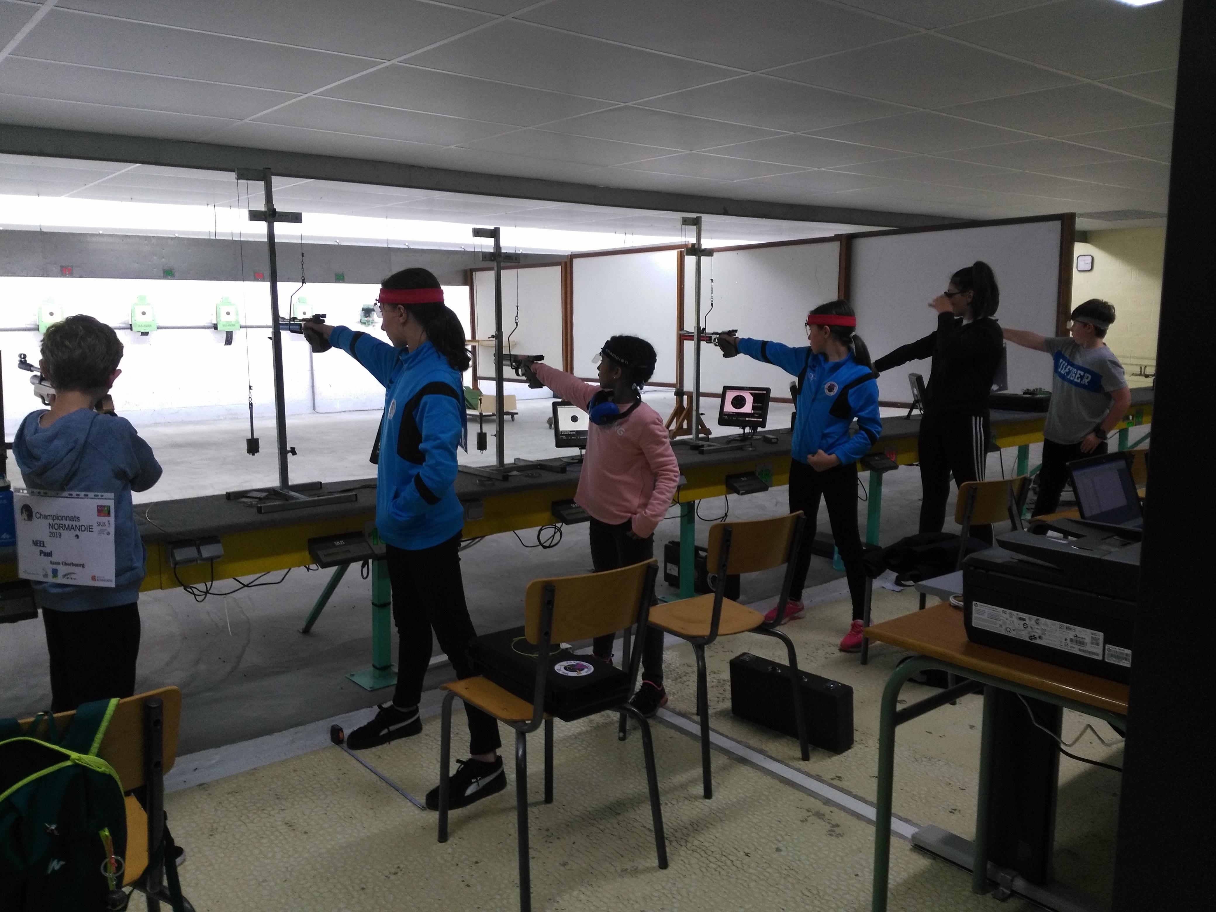 Régionaux Normandie Ecole de Tir
