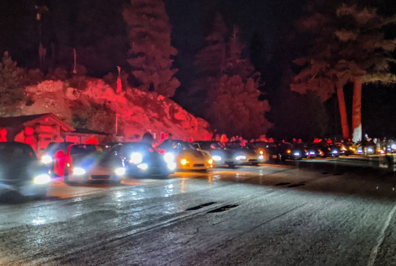 Summer solstice night drive 2020