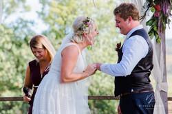 The Rocks Yandina wedding photograph
