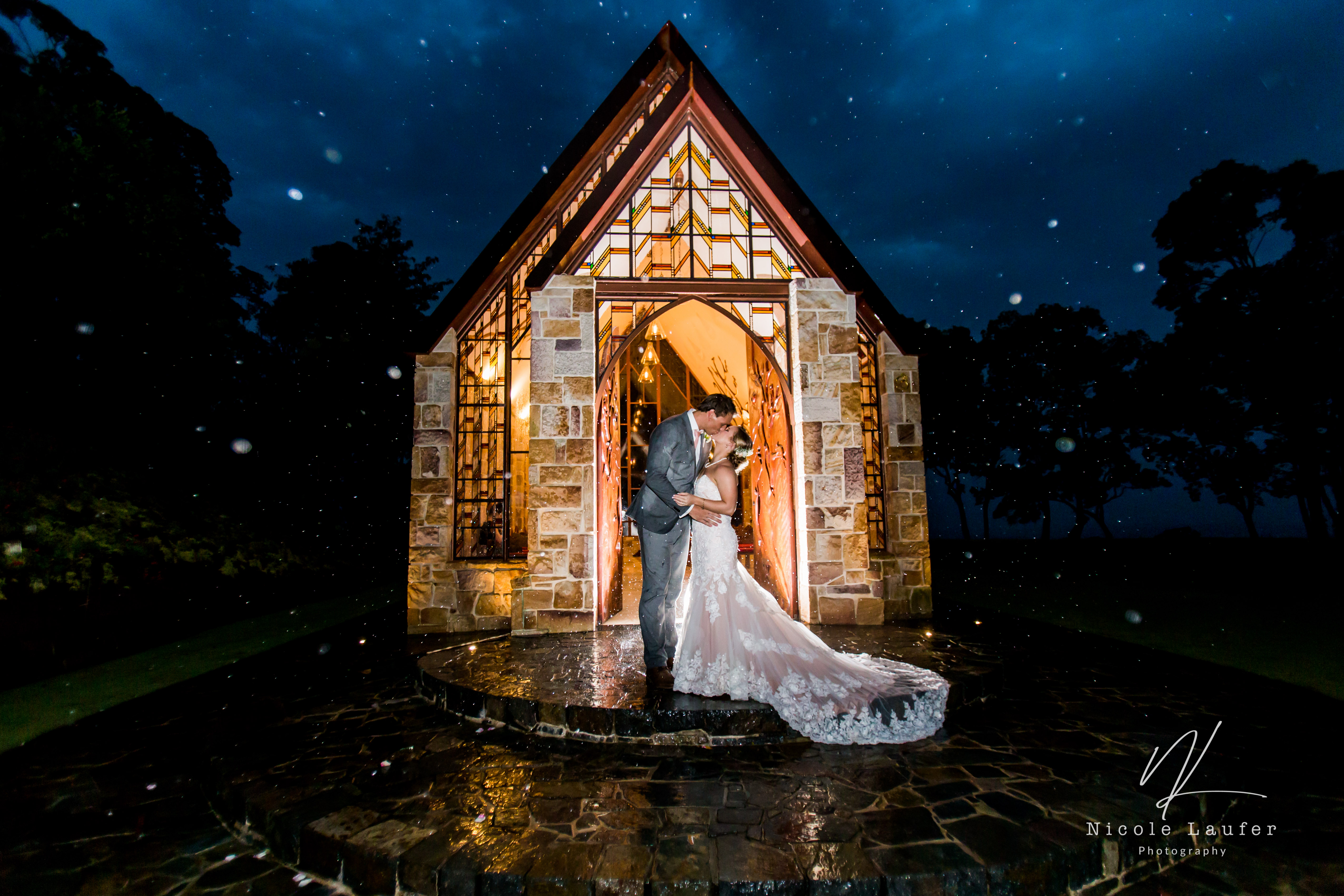 The Chapel Montville wedding