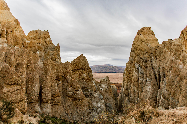 Clay Cliffs - New Zealand