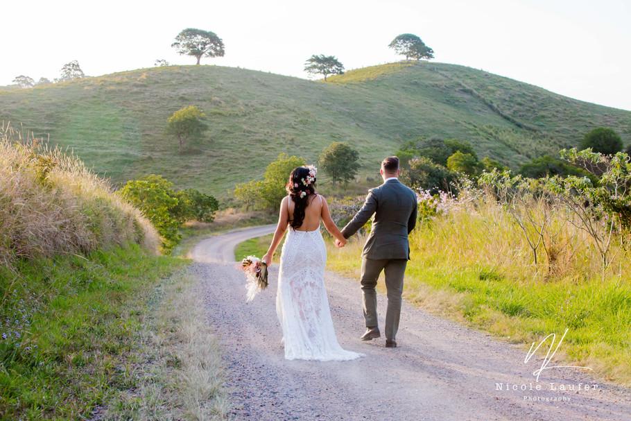 Jess & Ben | Noosa hinterland wedding