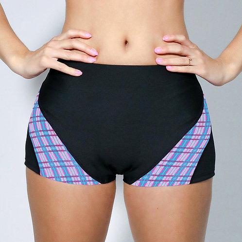 """2"""" Inseam Shorts - Pastel Plaid"""