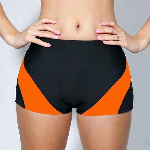 """2"""" Inseam Shorts- Pumpkin Orange"""