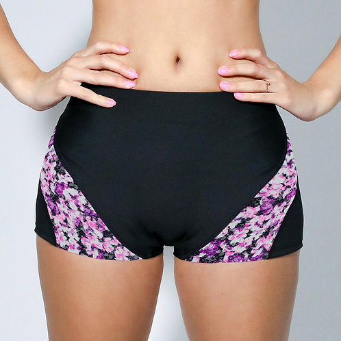 "2"" Inseam Shorts - Floral Lace"