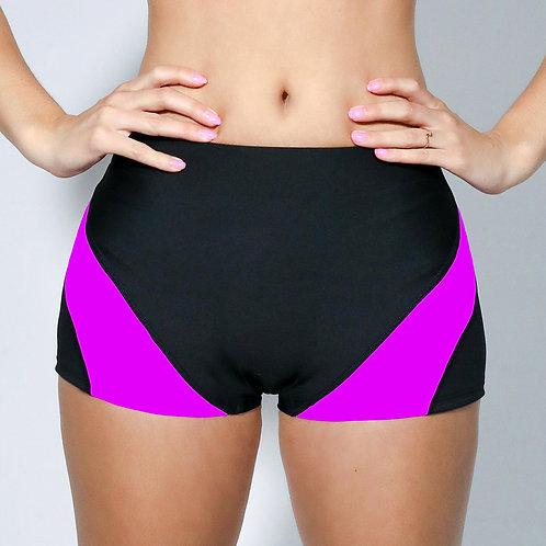 """2"""" Inseam Shorts - Neon Violet"""