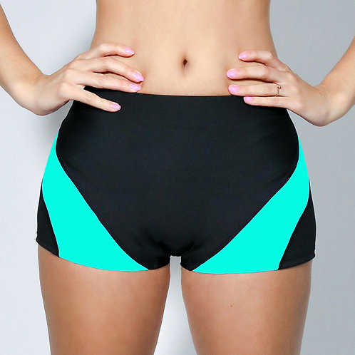 "2"" Inseam Shorts- Turquoise Waters"