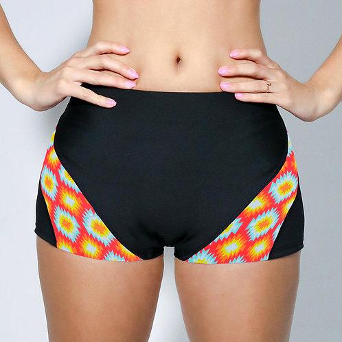 "2"" Inseam Shorts - Neon Static"