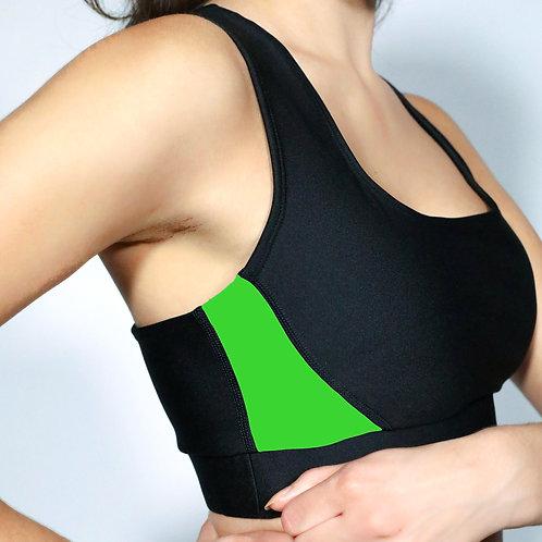 Sports Bra- Green Apple