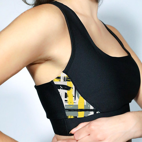 Sports Bra- Abstract