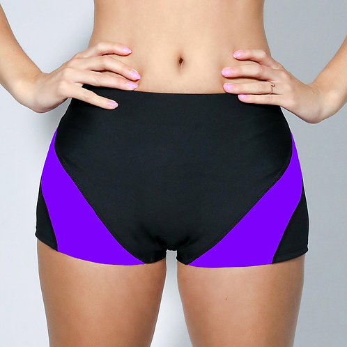 "2"" Inseam Shorts - Purple"