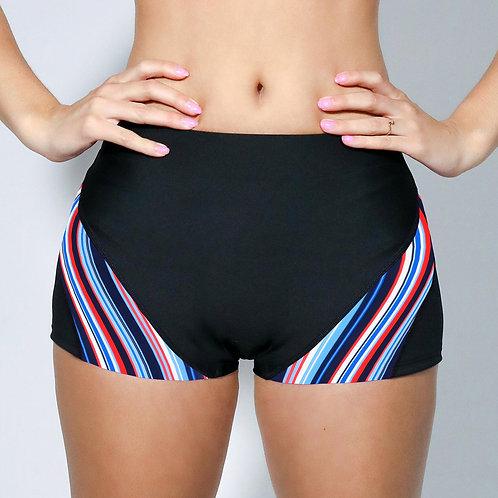 """2"""" Inseam Shorts - Nautical Barcode"""